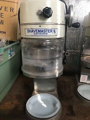 Shavemaster Ii Commercial Block Ice Shaver