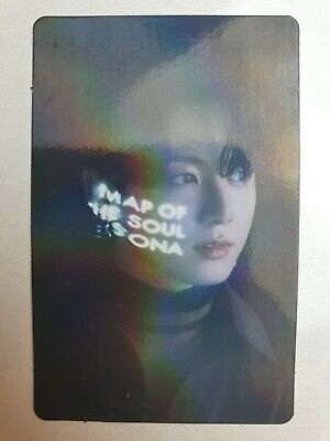 BTS Map Of The Soul ON:E Concept Photo Book Photo Card JUNGKOOK Hologram