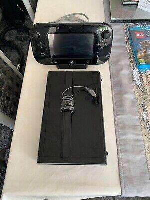 Nintendo Wii U Mario Kart 8 32GB Black Handheld System With Mario Kart 8