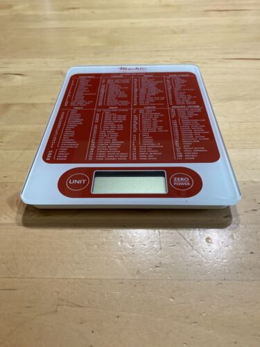 c19r food scale digital kitchen scale red