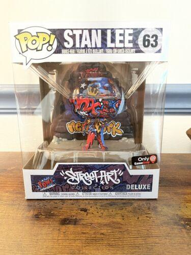 Funko Pop Marvel STAN LEE STREET ART Collection 63 Graffiti GameStop - $11.25