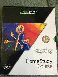 Optionetics Home Study course (Stock Market Trading Options)