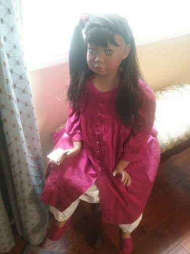 Christine Orange African American AA Doll Belinda