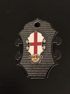 Hard Rock Cafe Manchester Headstock Flag Pin - Cafe Stock