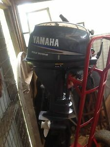 Yamaha 15hp outboard Cygnet Huon Valley Preview