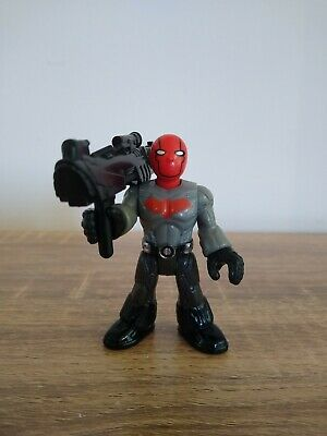 Imaginext Red Hood Figure Complete With Gun RARE.