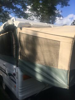 Jayco Flamingo Camper Trailer with Roof mounted Air Con late 2004 Moorooka Brisbane South West Preview