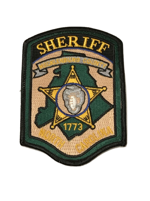 Mecklenburg County Sheriffs Department North Carolina Police Department Patch
