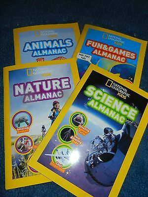 Science Kids Games (National Geographic Books Kids Almanac Science Nature Animals Fun & Games)