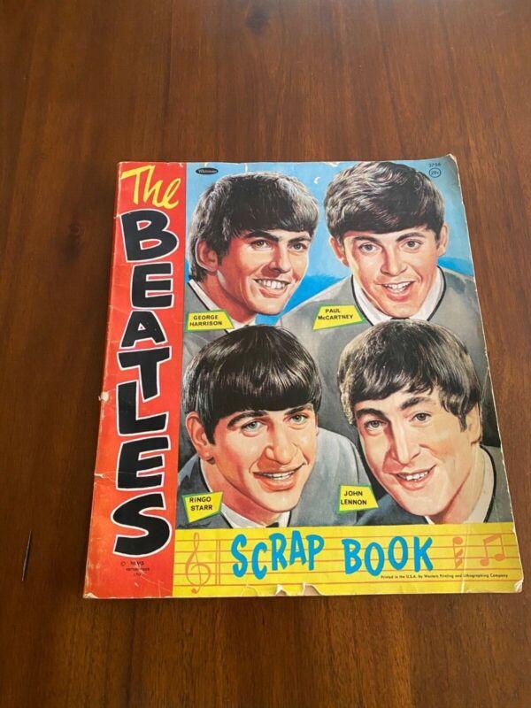 THE BEATLES Whitman SCRAPBOOK Nems Unused-1960