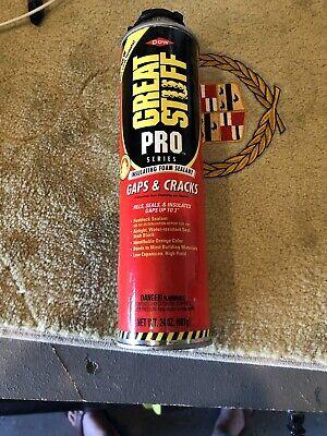 Great Stuff Pro Gaps Cracks 24 Oz Insulating Foam Sealant One Can