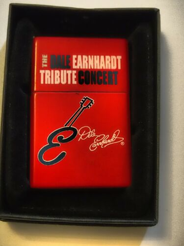 Collectible Dale Earnhardt Tribute Concert Butane Torch Lighter