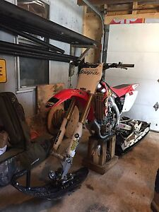 2006 Crf 450r explore track kit