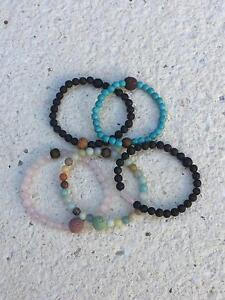 Essential Oil Jewellery created by Lava-Links Bead Stone Lava Mount Pleasant Melville Area Preview