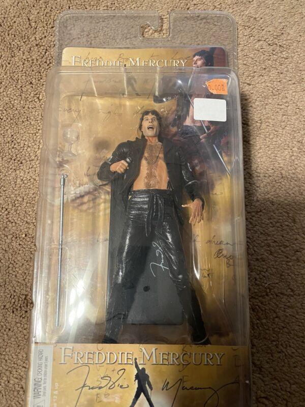 Neca Queen Freddie Mercury Action Figure 8 inch Neca Freddie 1970 leather look