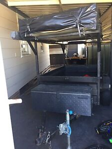 Camper Trailer & 2010 Box/ Bike Trailer (6x4) St Marys Penrith Area Preview