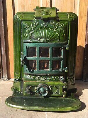 Art Deco Vintage Wood Burner Coal Stove