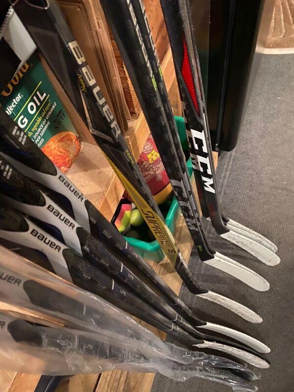 Bauer 1X Lite Full Custom Hockey Sticks (Blue)
