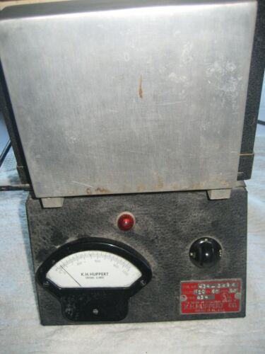 Dental Lab Burnout Furnace Oven  K.H. Huppert model #434