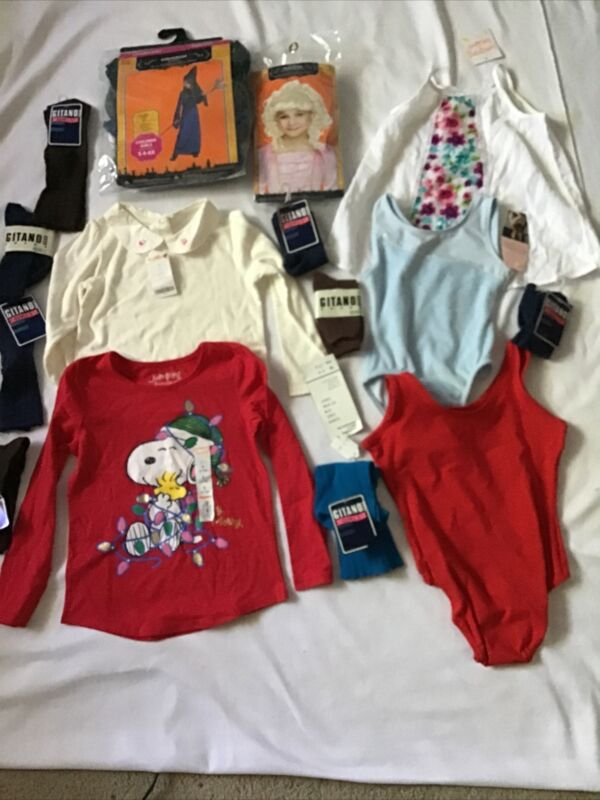 Girl Clothes Lot 4-12 Years 15 Pieces Jumping Beans Danskin