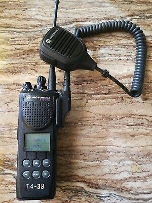 Motorola Astro Xts3000 Ii P25 Model H09ucf9pw7bn 800mhz Radio Portable