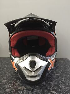 Motocross Dirt bike Helmet new, size head size 61-62cm XL kids,adults Heathwood Brisbane South West Preview