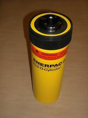 Rch-206 Enerpac Hollow Plunger Cylinder 20 Ton 6.10 Stroke 1.06 Center Hole