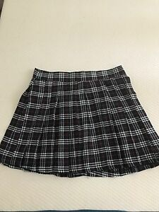 Navy checked schoolgirl skirt Longueville Lane Cove Area Preview