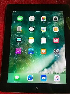 "APPLE IPAD 4TH GEN 9.7"" RETINA, SILVER/BLACK 32GB WIFI IOS MD511LL/A"