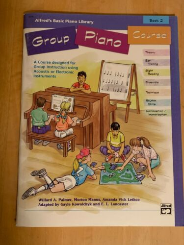 Group Piano Course, Books 2 only; Alfred