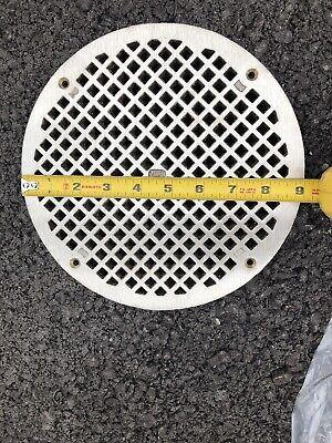 Zurn 47118-1 Floor Drain Cover Strainer Grid Nickel 10 Dia Round 9 116