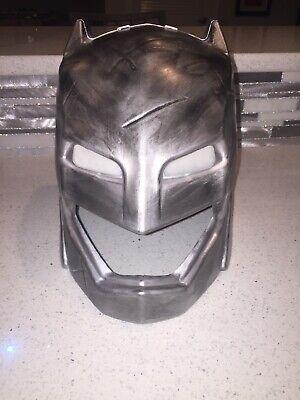 Custom Batman VS Superman Armored Deluxe Helmet Adult Mask Costume One Size