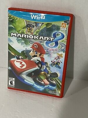 Mario Kart 8 - Nintendo Wii U - Tested and Complete - Free Shipping