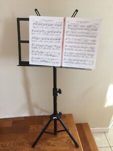 Apex large music stand
