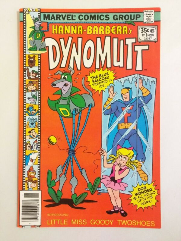 Dynomutt #1 (Marvel Comics 1977) FN 6.0