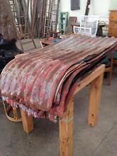 Corrugated Iron, bull faced, rusty metal Thomastown Whittlesea Area Preview