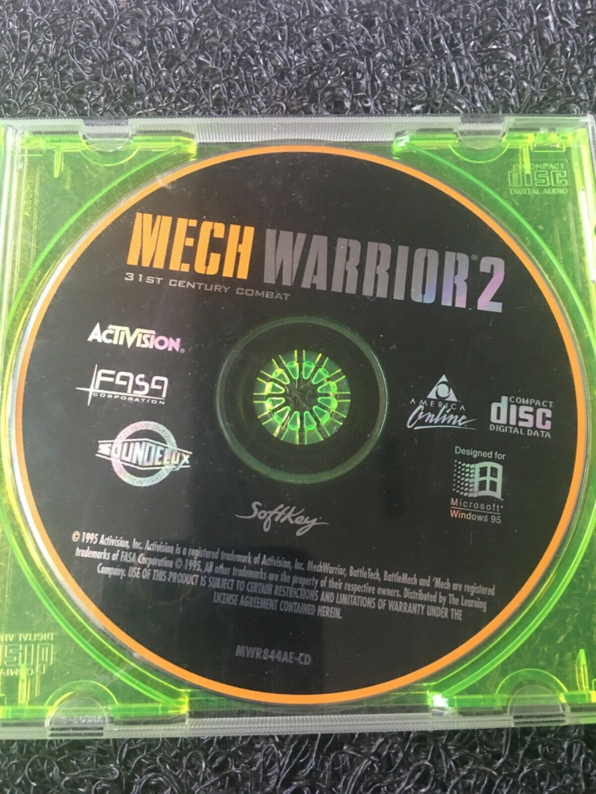 Computer Games - MECH WARRIOR 2 PC CD Computer Game Disc Only