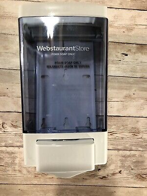 Webstaurant Store Wall Mount Bathroom Push Foaming Soap Dispenser