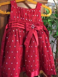 Christmas dress size 2T