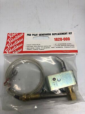 Robertshaw Pg9 Pilot Generator Replacement Kit 1820-009 Thermopile Furnace Lp Ng
