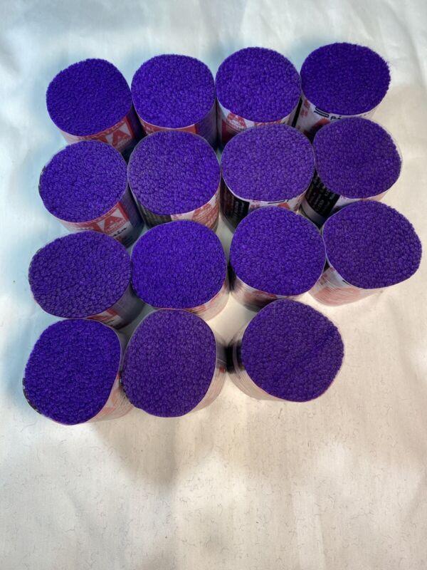 Vintage Spinnerin Latch Hook Rug Yarn Purple #7040