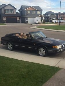 1993 Saab 900 turbo cabriolet 5spd great condition 4900.00 Obo