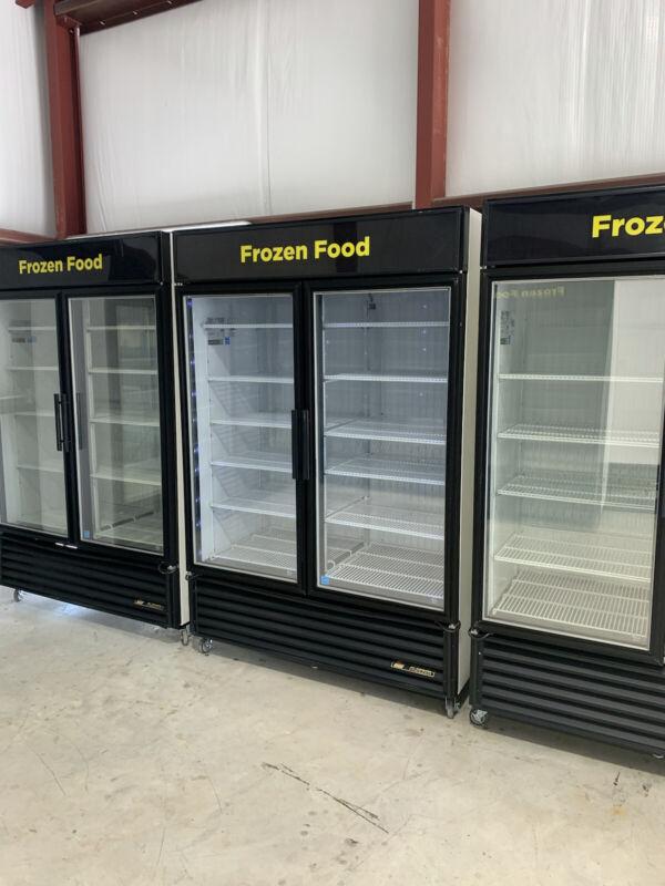 True GDM-49F-LD Glass 2 Door Merchandiser Commercial Freezer