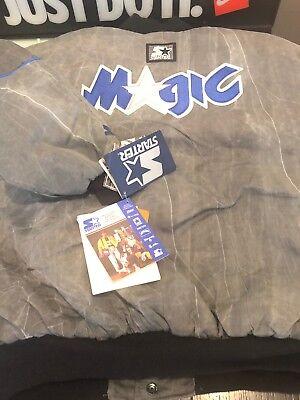 VINTAGE NWT STARTER ORLANDO MAGIC JACKET SIZE XL DS SHAQ PENNY RARE COAT