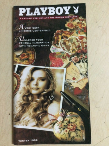 Playboy Catalog Winter 1992 cover Corinna Harney centerfold + order form intact