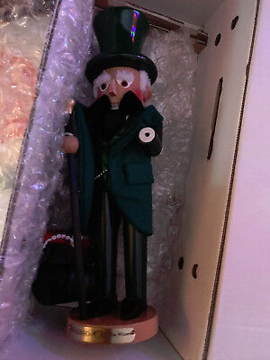 STEINBACH NUTCRACKER THE WIZARD OF OZ  THE WIZARD S1808 W/BOX SIGNED