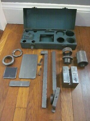 Machinist Lathe Mill Toolmaker Made Precision Tool Scale Balance W Custom Box