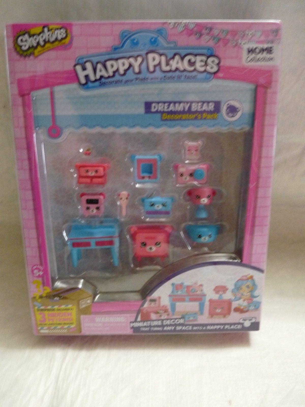 Shopkins Decorator Pack Dreamy Bear Playset