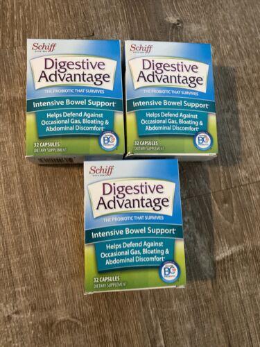 Schiff Digestive Advantage Intensive Bowel Support 96 Capsules Expires 12/20