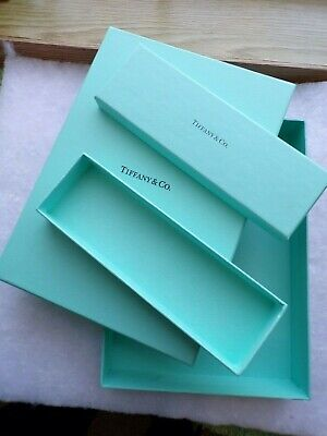 Tiffany Boxes Wholesale (Tiffany & Co. Authentic Empty Jewelry Packaging Boxes LOT OF 2 BOXES > 9